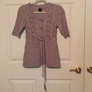 Rue 21 button up sweater